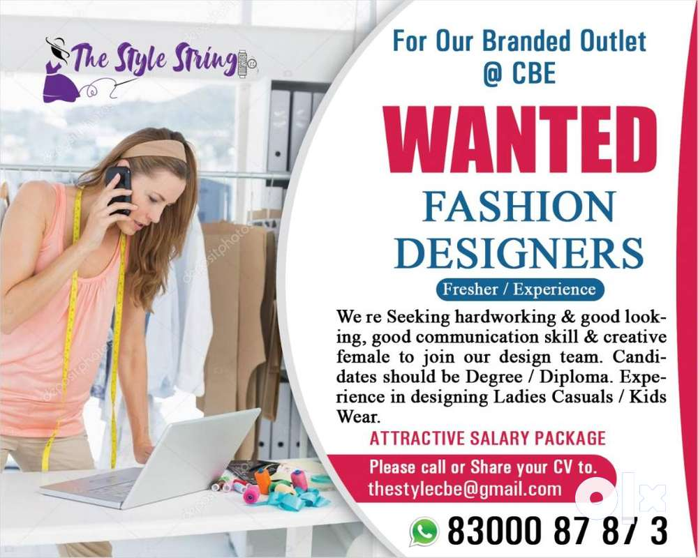 Fashion Designer Store Incharge Designer 1591023272