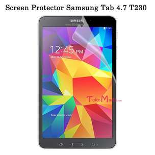 Screen Protector Samsung Tab 4.7 T230 Anti Gores Glare - FT1442H