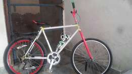 Modified Stunt bicycle with Shimano parts in Excellent condition