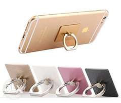 Finger ring holder and stand for your phone or tablet