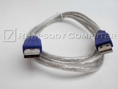 Kabel USB 2.0 Type A Male-Male 1.5M