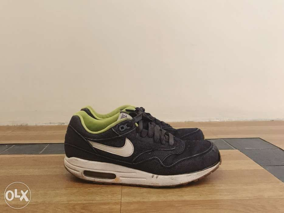 the best attitude 716e6 525e9 Nike Air Max 1 Premium Denim US 8 ...