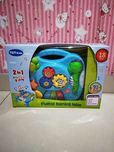 Dijual Mainan Baru Musical Learning Table