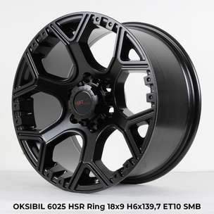 Velg Racing Model OKSIBIL JD6025 Ring:18X9 Hole:6X139,7