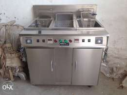 Double Tube Digital Fryer NEW with warranty at factory price