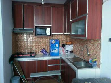 Model Kitchen Set Modere n Custom Bentuk L