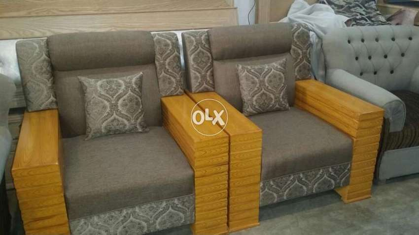 Brand New 5 Seater Sofa Set Imported Fabric Fix Prize Good Quality