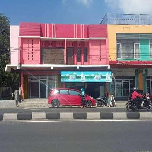 ruko 2 lantai, 2 lokal di depan rs kota mataram ru03