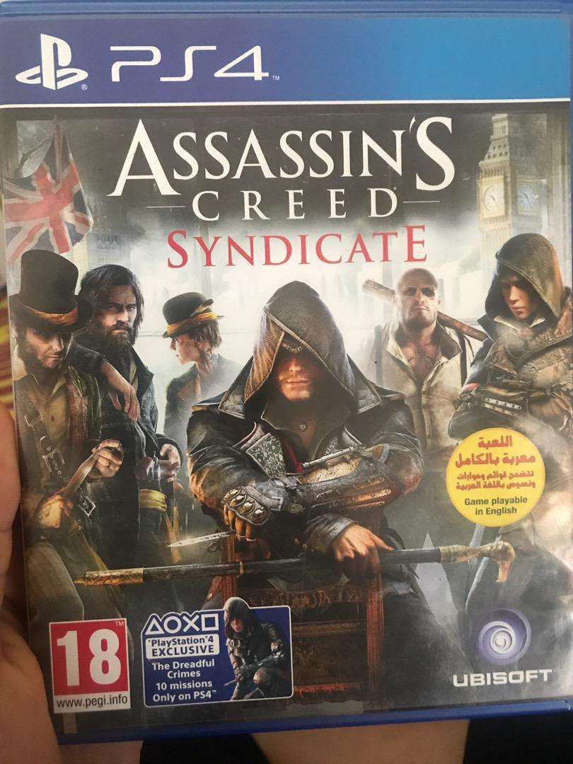 Jual Kaset Bd Ps4 Assassins Creed Syndicate Games Console
