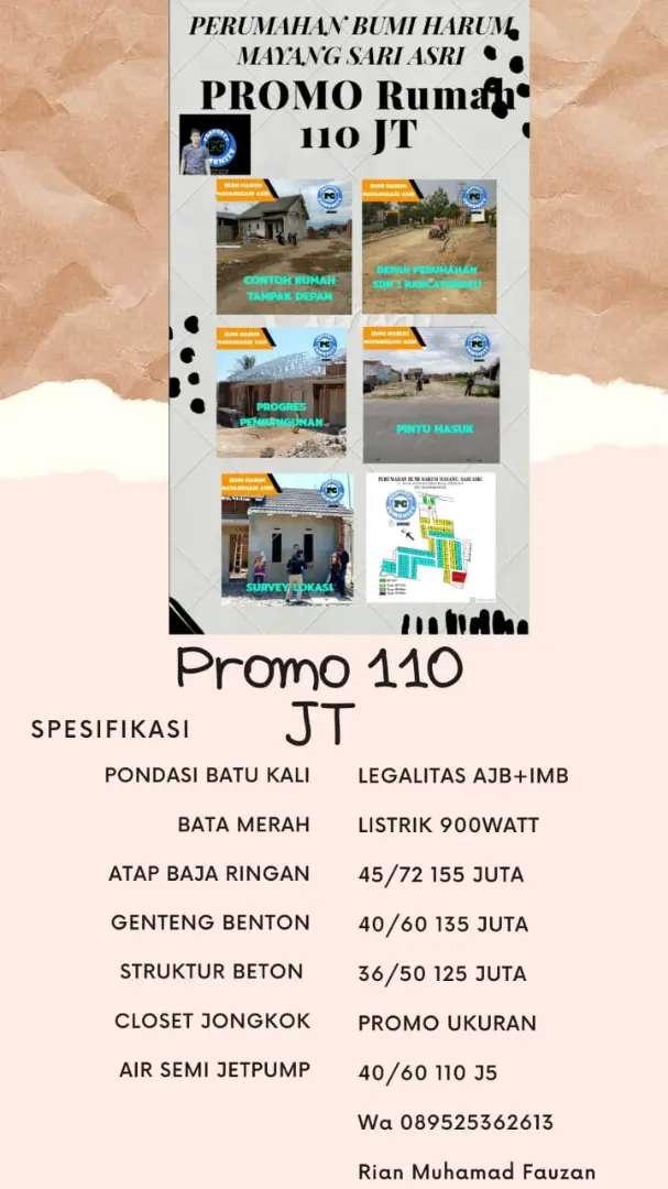 Promo Rumah 110 Jt Diskon 15 Jt Dijual Rumah Apartemen 799817805