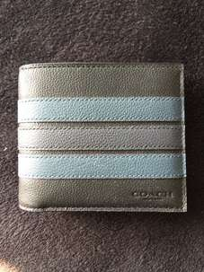 Dompet Kulit Coach with Card Holder