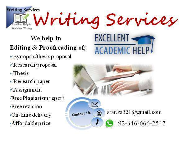 Thesis Writing in Lahore