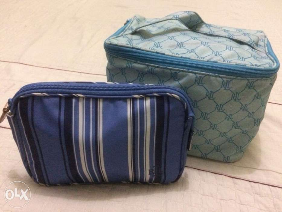 39bc53a00671 Ralph Lauren bundle of 2 Cosmetic Bag Pouch in Manila