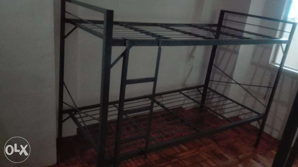 Double Deck Military Bed Spring 30x30x75 For Sale