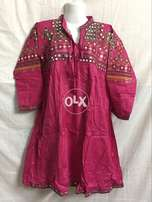 Specially for Eid Ladies Embroidery Frocks Shirts Kurti in Cotton Lawn