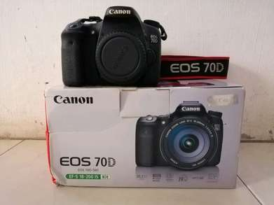 Canon 70D Body Only Like New