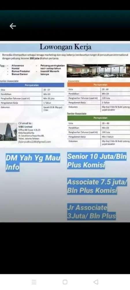 Lowongan Di Tebet Cari Lowongan Terbaru Di Indonesia Olx Co Id