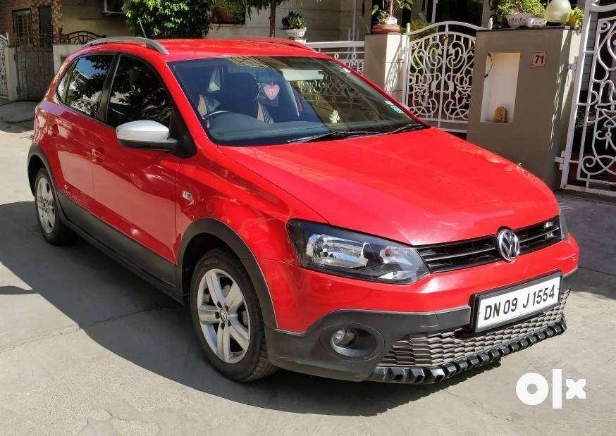 2014 Volkswagen Cross Polo Diesel 36000 Kms Silvassa Cars Yogi