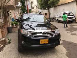 Toyota Fortuner 2015 Model Price Negotiable.