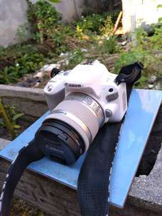 Canon EOS 200D putih mulus like new