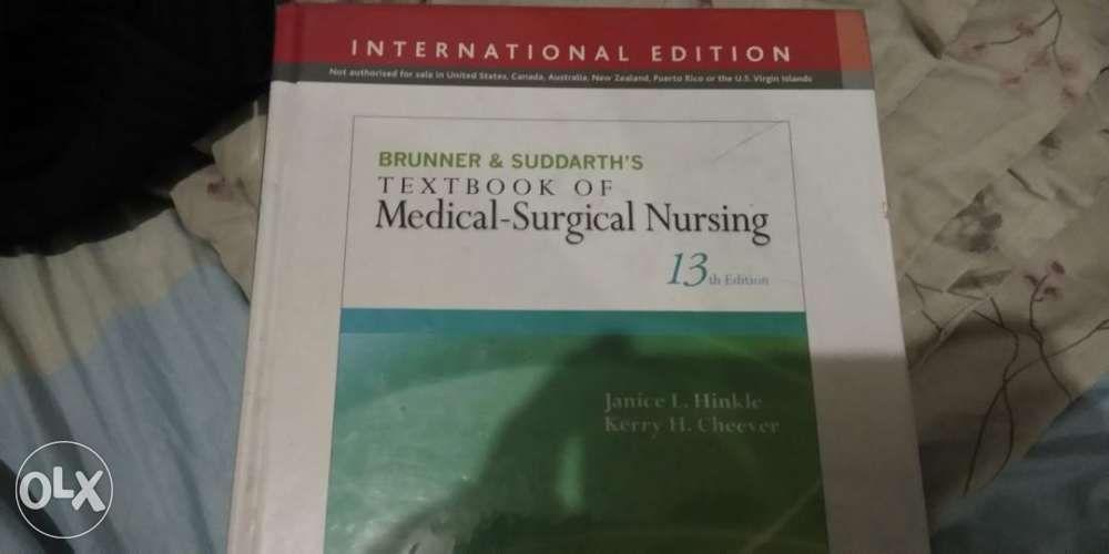 Brunner Nursing Book