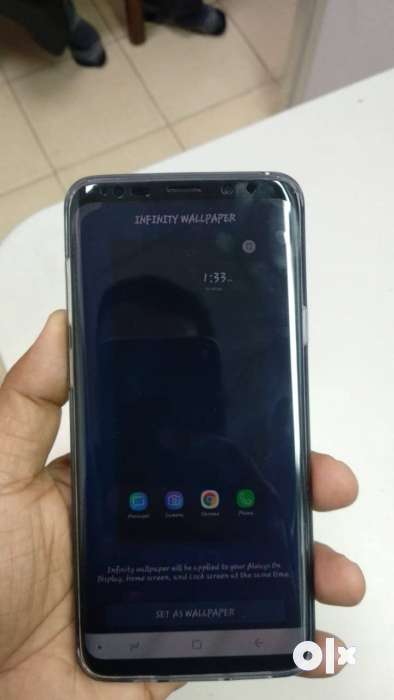 SAMSUNG S9+128GB 1month OLD wanna Exchange with note 9