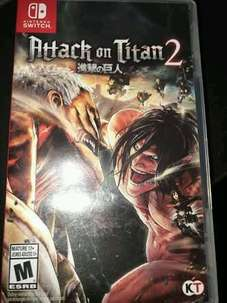 Attack on Titan 2 (AoT2) | Nintendo Switch Jual Murah NEGO!!