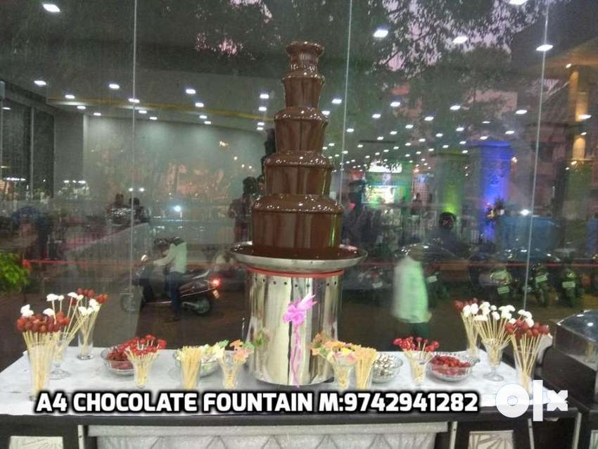 Chocolate Fountain Rental Bangalore For Wedding Reception Other