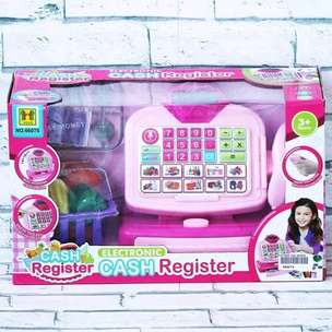 Mainan Mesin Kasir Cash Register No.66075
