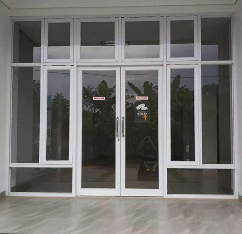 Pintu Kaca Minimalis Alumunium 709 Konstruksi Dan Taman 777904347