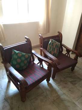 Wood Sofa Cushions Set Olx