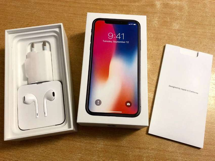 new style 5cc93 369a7 Apple iPhone X - 64GB Space Gray Unlocked box with all new ...