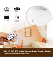 Smoke detector camera + remote control home delivery