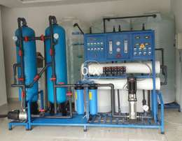 Mineral water bottle RO plant 1000 LPH