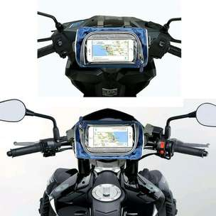 Tas Touring Holder Motor Sepeda with Bracket HP Handphone Stang Spion