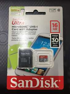 Jual Sandisk Ultra Micro SD 16gb