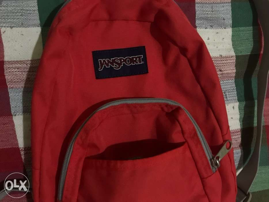 ... FREE SHIPPING   Used I JanSport Orange Half Pint Mini Backpack 10L ... 8892d1986e2a5