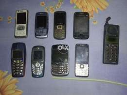 Mix Faulty Mobiles Nokia Samsung BlackBerry China Motorola Touch Type