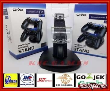 Docking Charger Stik PS4 OTVO II Charger Untuk Ngecas Stik PS4
