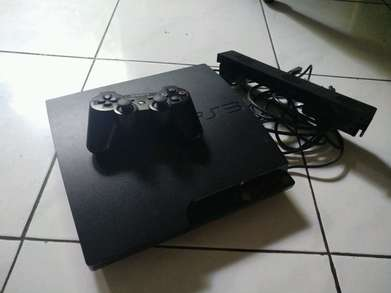 Jual ps3 slim 120gb plus cooling fan