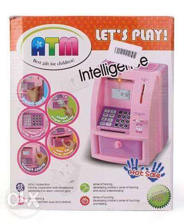 Mini Atm Bank Coin Box Toy