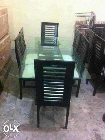 Beautiful and ausmm 6 seaters dining table set
