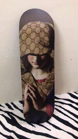 181754b3f75 Custom Gucci angel skateboard