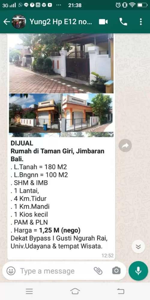Rumah Di Bali Dekat Jimbaran Dan Univ Udayana Dijual Rumah Apartemen 816765664