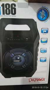 portable speaker with mic and battery