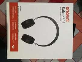 12060ac9bcd Envent Saber 505 ET-BTHD505 Wireless On-Ear Headphone with Mic (Black)