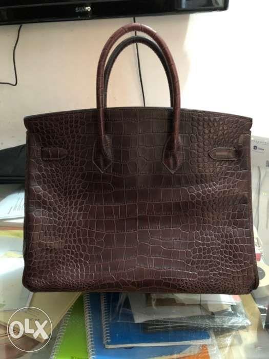 f3bc2dabe0 Hermes crocodile birkin bag original · Hermes crocodile birkin bag original  ...