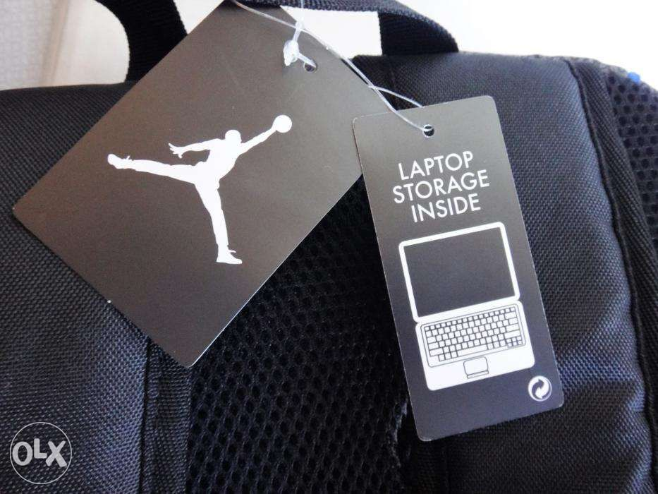 ... Nike Backpack Air Jordan Jumpman23 Black Blue 9A1223 NewUSA ... a3bc84879c