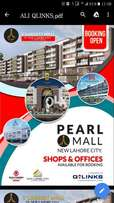 330 sqft corner shop ground floor in Pearl Mall New Lahore City Bahria