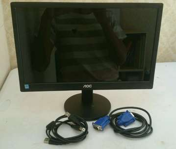 Monitor AOC E1670Sw USB power